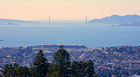 >Sunset on the S.F. Bay, Book Signing